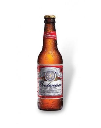Cerveza Budweiser Pack 24 botellas 33 cl.