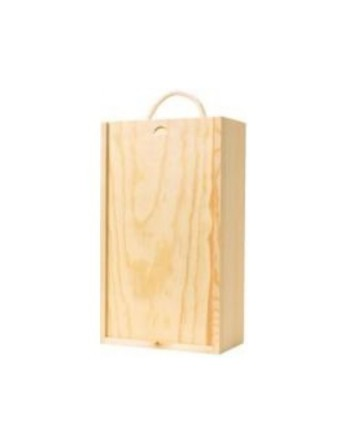 3 bottle Wooden Box