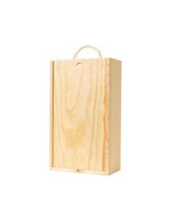 3 bottle Wooden Box Selection