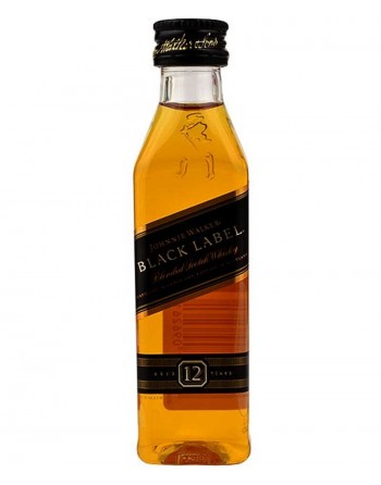 Whisky Johnnie Walker Black Label miniature 12 units