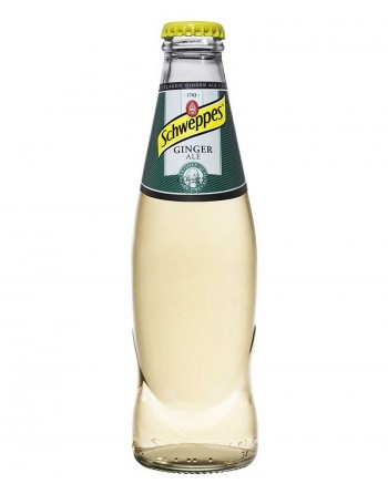 Schweppes Ginger Ale Pack 24 Unidades 25cl.