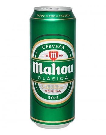 Cerveza Mahou Clásica Pack 24 Unidades 50cl.