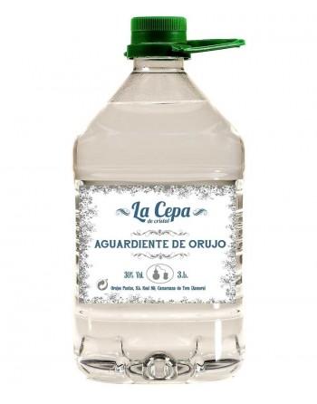 Aguardiente de orujo La Cepa de Cristal 3L