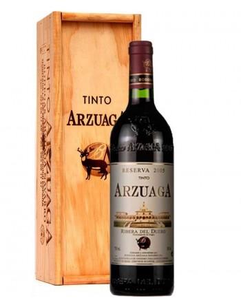 Arzuaga Reserva en caja de madera