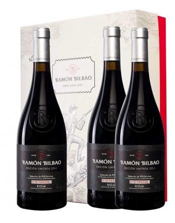 Pack 3 botellas Ramón Bilbao Edición Limitada