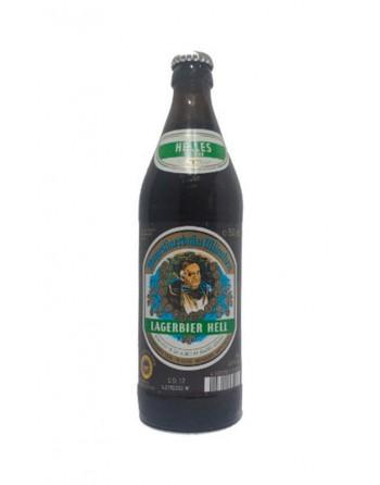Lagerbier Hell Beer Bottle 50cl.