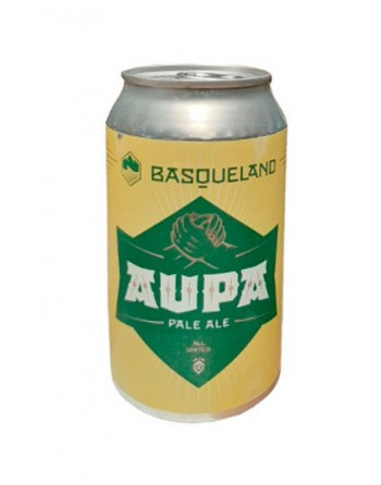 Cerveza Aupa All United Pale Ale Lata 33cl.