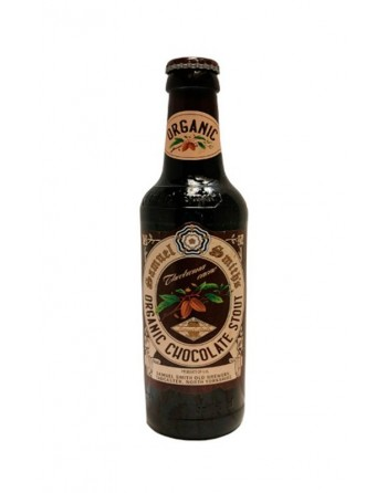 Organic Chocolate Stout Beer Bottle 35cl.