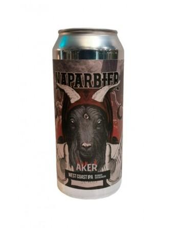 Cerveza Naparbier Aker Lata 44cl.