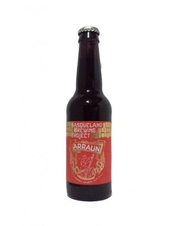 Cerveza Arraun Amber Ale Botella 33cl.