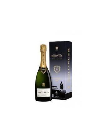 Champagne Bollinger 007 Edición Limitada
