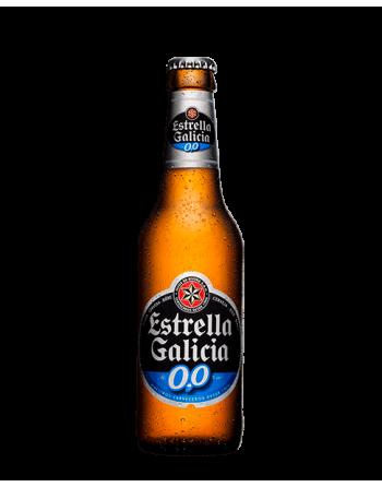 Cerveza Estrella Galicia 0,0 Pack 24 Unidades 25cl.