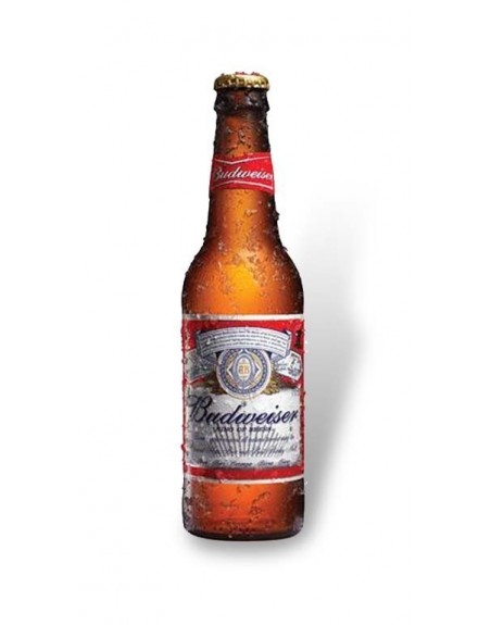 Cerveza Budweiser Pack 24 botellas 33 cl.