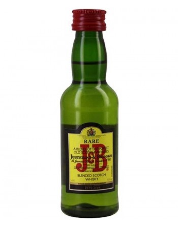 Miniatura Whisky J&B 12 unidades