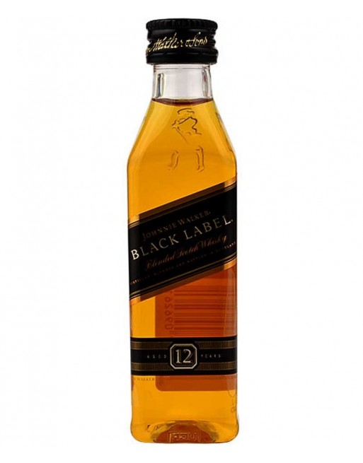 Whisky Johnnie Walker Black Label miniature 12 units