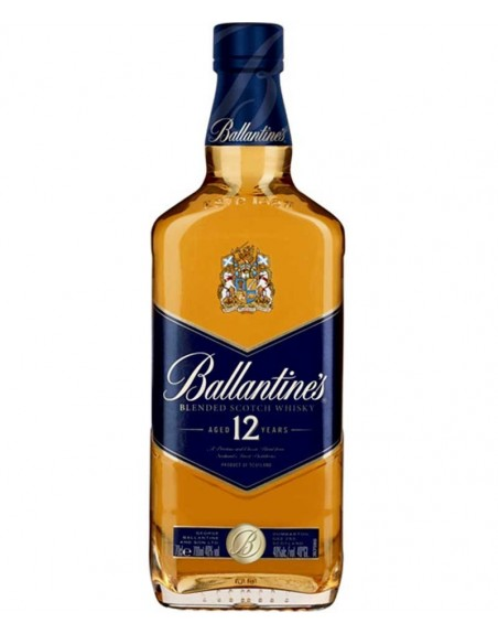 Whisky Ballantine's 12 años 70cl.
