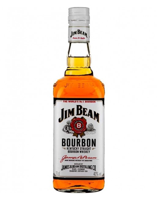 Whisky Bourbon Jim Beam 70cl.