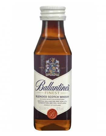Ballantine's whisky...