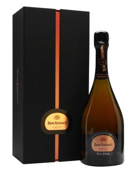 Champagne Dom Ruinart Rosé 1996 75cl con estuche.