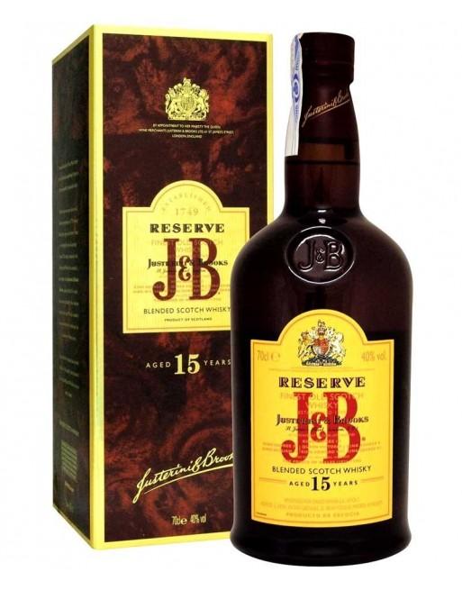 Whisky J&B 15 años 70cl.
