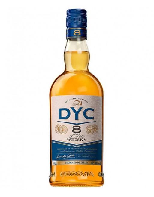 Whisky Dyc 8 años 70cl.
