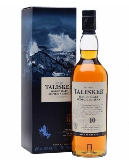 Whisky Talisker 10 años 70cl.