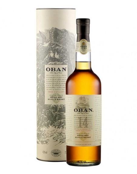 Whisky Oban 14 Años 70 Cl.