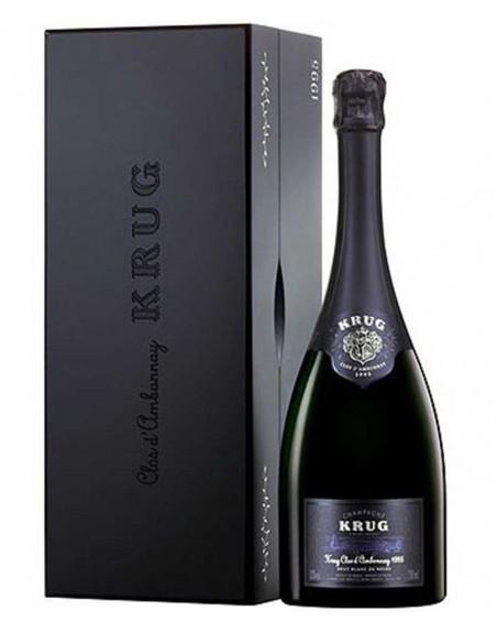Champagne Krug Clos D'‹Ambonnay 1996 75cl con caja de madera.