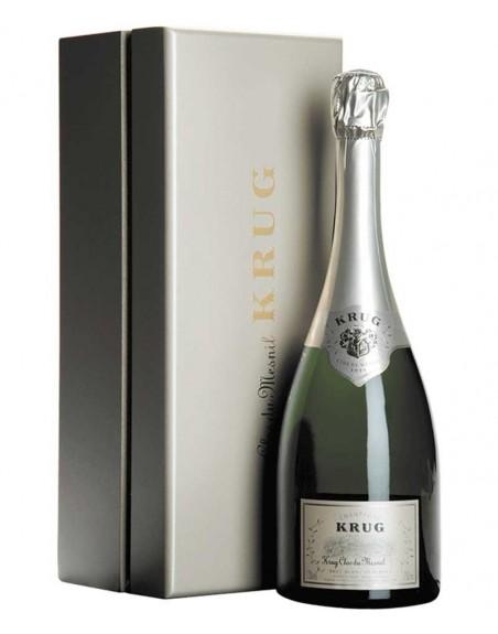 Champagne Krug Clos Du Mesnil 1998 75cl con caja de madera.