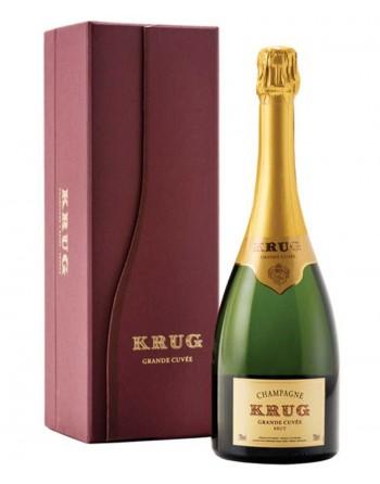 Champagne Krug Grande Cuvée 75cl con estuche.