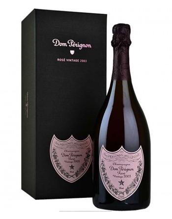 Champagne Dom Pérignon Rosé Vintage 75cl con estuche.