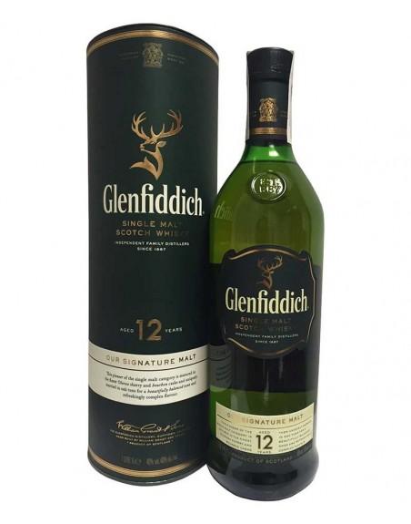 Whisky Glenfiddich 12 años 70cl