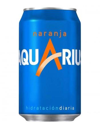 Aquarius Naranja Pack 24 Unidades 33cl.