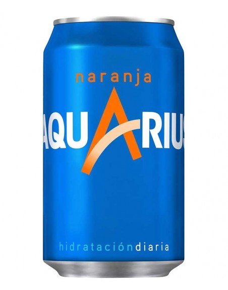 Aquarius Naranja Pack 24 Unidades 33cl.