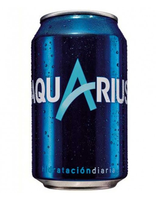 Aquarius Lemon Tin (24 x 330ml)