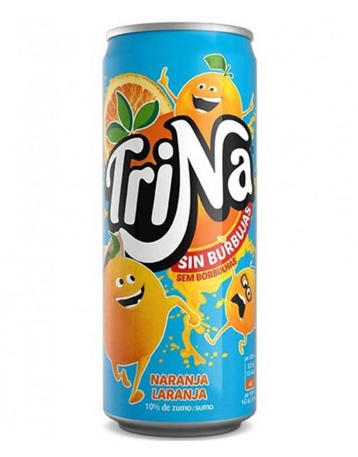 Trina Orange Tin (24 x 330ml)