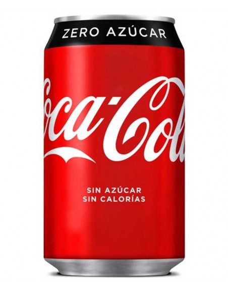 Coca Cola Zero Pack 24 unidades 33cl.