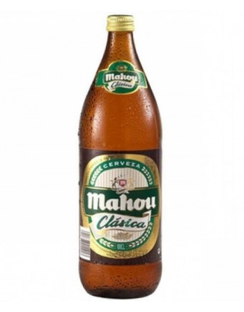 Cerveza Mahou Pack 6 Botellas 1L