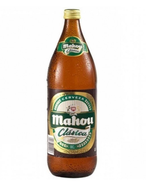 Mahou Clásica Beer bottle (6 x L.)