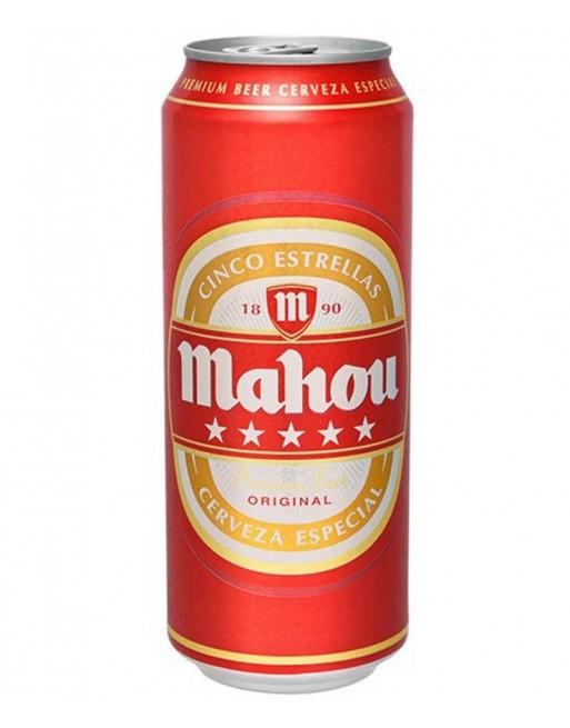 Comprar Cerveza Mahou 5 Estrellas Pack 24 50cl Al Mejor Precio