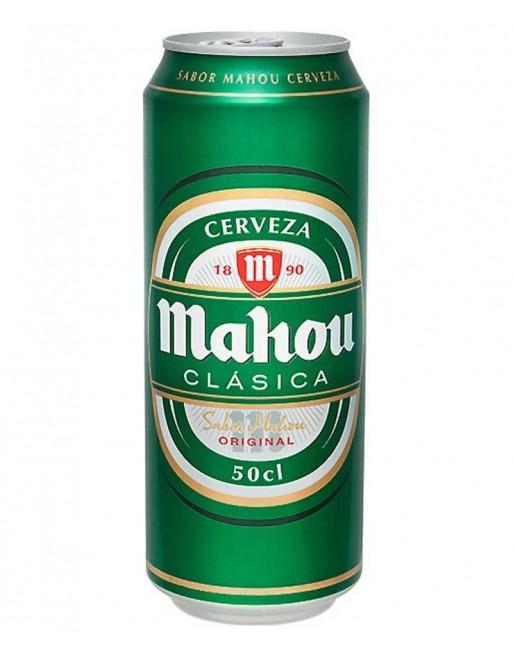 Comprar Cerveza Mahou Clasica Pack 24 Unidades 50cl Al Mejor