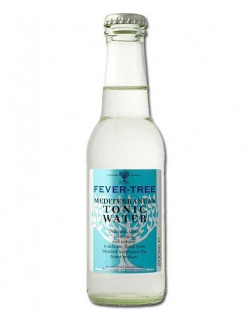 Fever Tree Mediterranean Tonic bottle (24 x 200ml)
