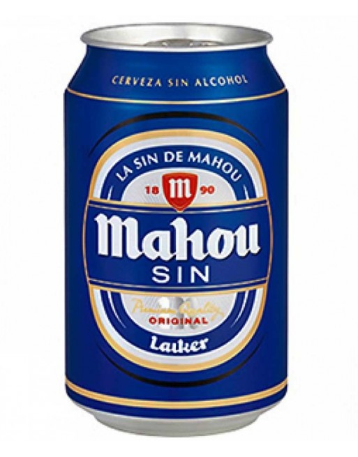 Mahou Alcohol Free Beer Tin (24 x 330ml)