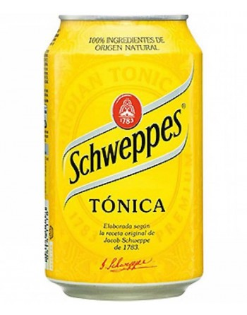 Schweppes Tonic Pack 24 Units 33cl.
