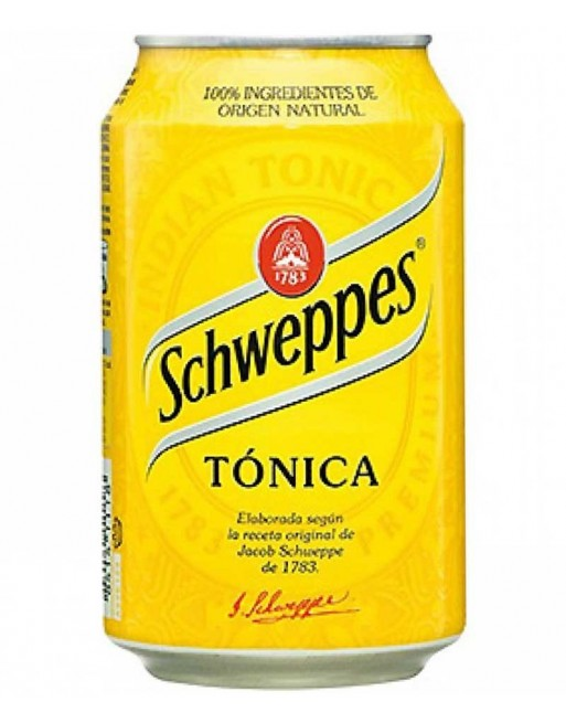 Tónica Schweppes Pack 24 Unidades 33cl.