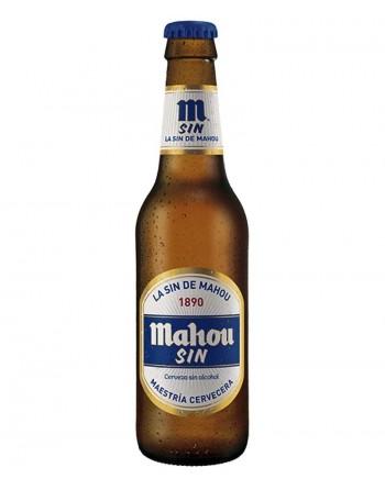 Cerveza Mahou Sin Pack 24 botellines