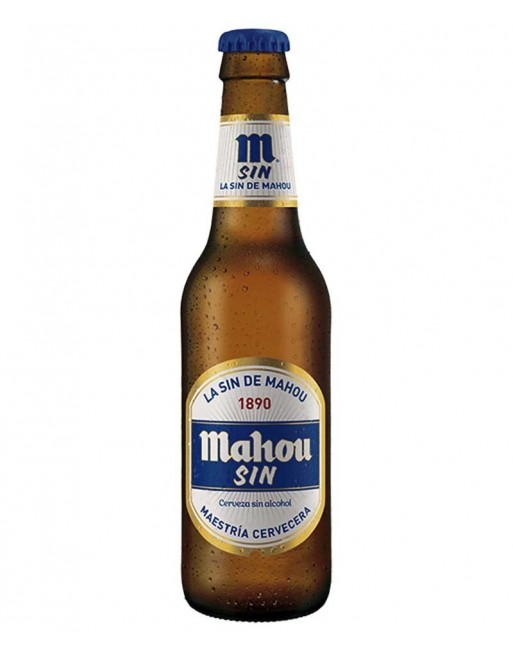 Cerveza Mahou Sin Pack 24 botellines