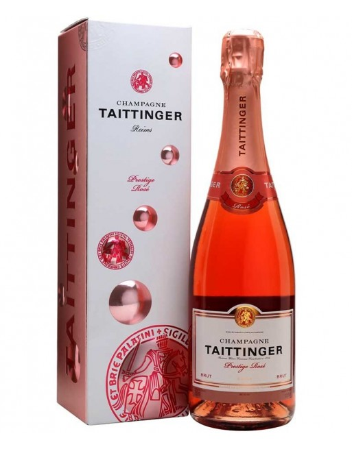 Champagne Taittinger Prestige Rosé 75cl.