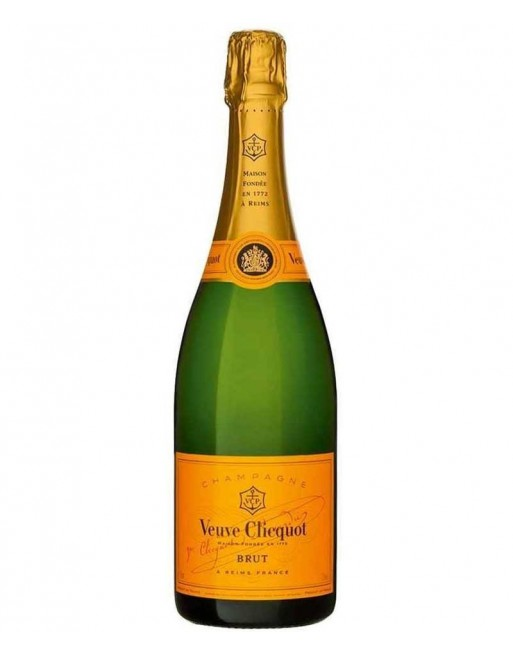 Champagne Veuve Clicquot Brut Yellow Label 75cl.