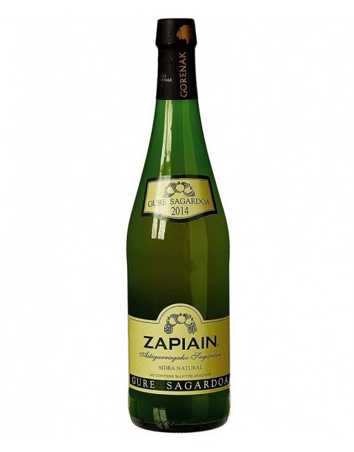 Sidra Zapiain Natural 75cl.
